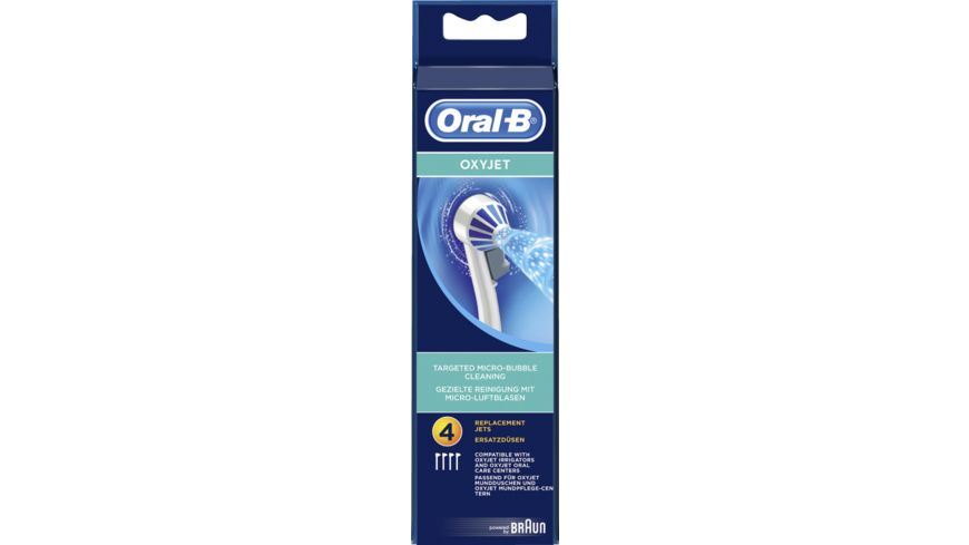 Oral B Ersatzduesen OxyJet 4er