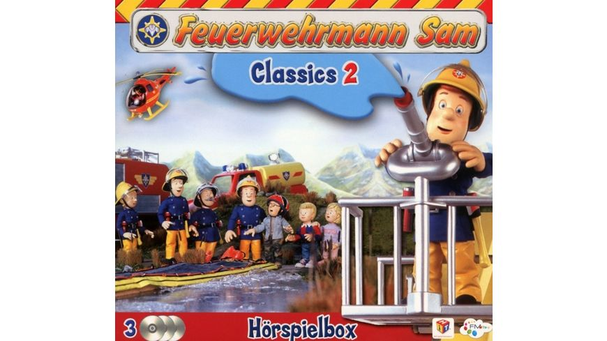 Feuerwehrmann Sam Classics Hoerspiel Box 2 3CDs