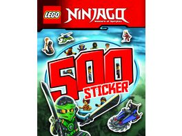 Buch AMEET Verlag LEGO NINJAGO 500 Sticker