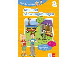 Buch Klett Lerntraining Die Deutsch Helden ABC und Schwunguebungen 1 Klasse
