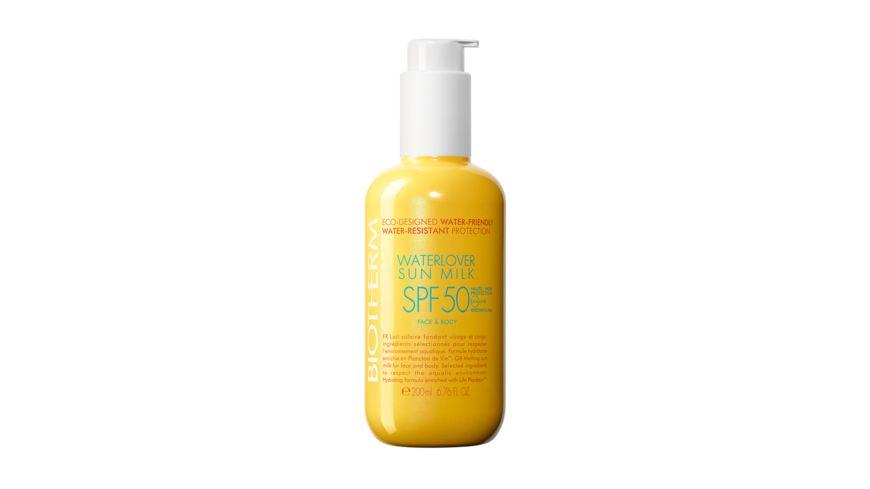 BIOTHERM Waterlover Sun Milk LSF 50