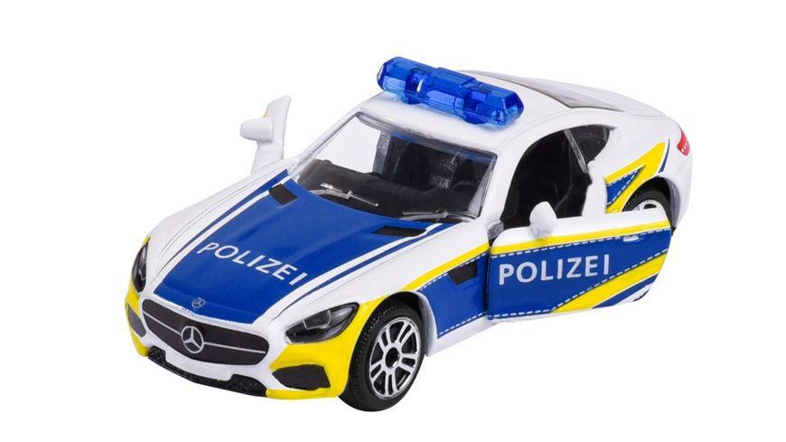 Majorette Premium Cars Mercedes AMG Autobahn Polizei