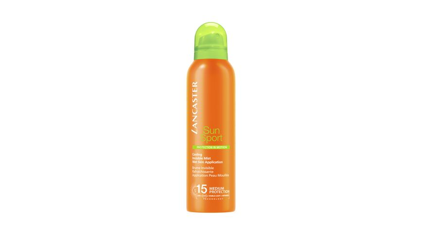 Lancaster Sun Sport Cooling Invisible Body Mist LSF 15
