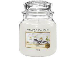 YANKEE CANDLE Mittlere Kerze im Glas Vanille