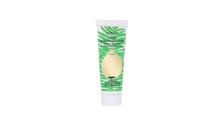 KORRES Babassu Butter intense moisturising nourishing mask