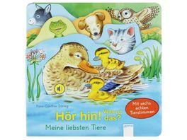 Buch ARENA Hoer hin Was ist das Meine liebsten Tiere