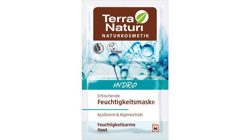 Terra Naturi Hydro Erfrischende Maske