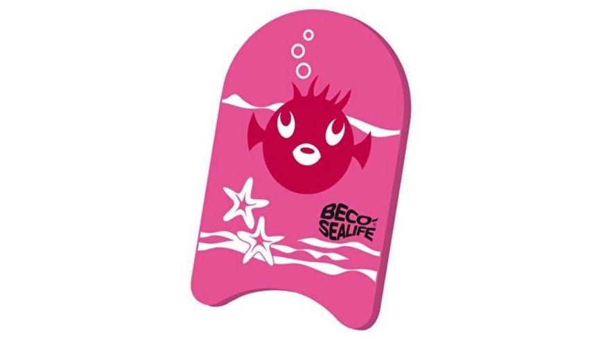 BECO Sealife Schwimmbrett pink