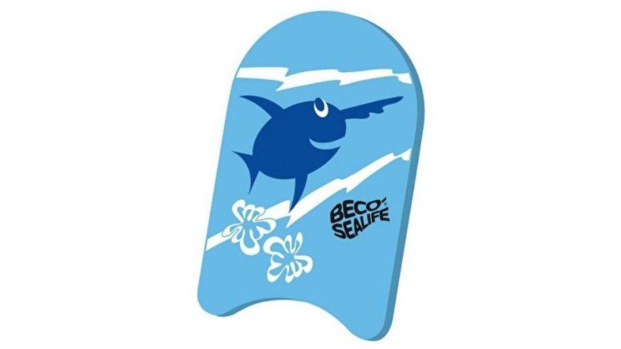 BECO Sealife Schwimmbrett blau