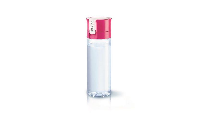 BRITA fill go Wasserfilter Flasche Vital pink