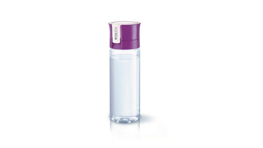 BRITA fill go Wasserfilter Flasche Vital lila