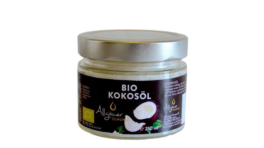 Allgaeuer Oelmuehle Bio Kokosoel
