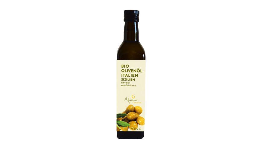 Allgaeuer Oelmuehle Bio Olivenoel Italien
