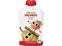 Freche Freunde Bio Quetschie 100 Apfel Birne Zimt