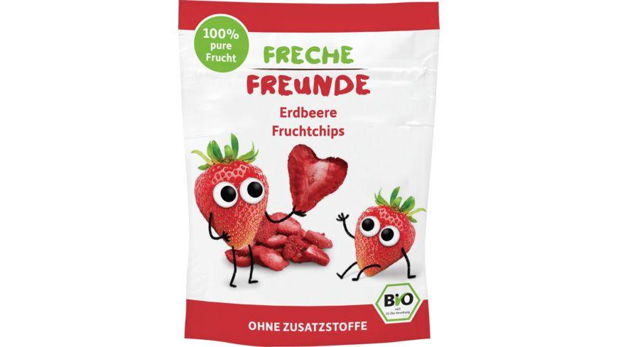 Freche Freunde Bio Fruchtchips 100 Erdbeere