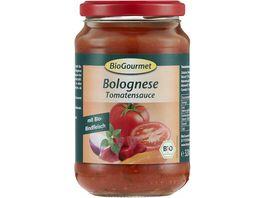 BioGourmet Tomatensauce Bolognese