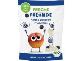 Freche Freunde Bio Fruchtchips 100 Apfel Blaubeere