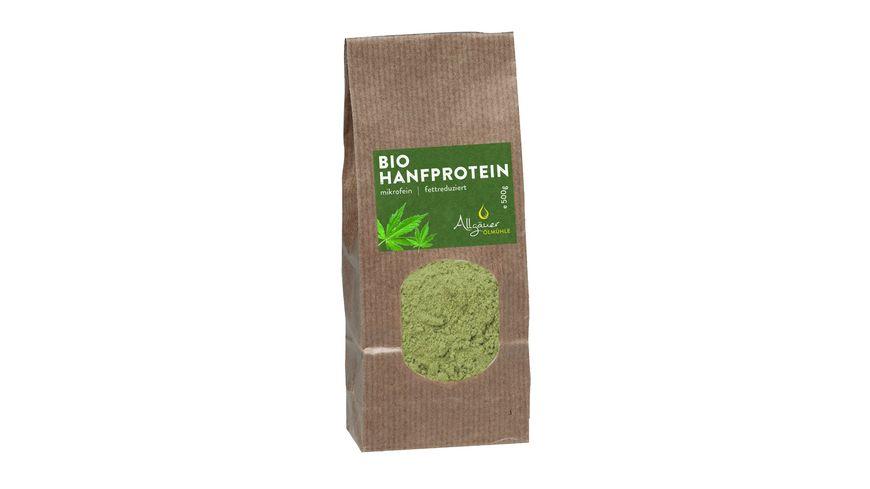 Allgaeuer Oelmuehle Bio Hanfprotein