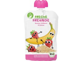 Freche Freunde Bio Quetschie Banane Erdbeere Quinoa