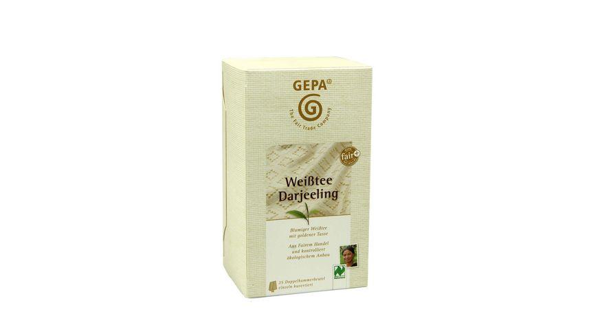 GEPA Weisstee Darjeeling Teebeutel