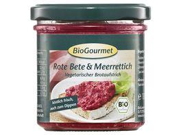 BioGourmet Rote Bete Meerrettich
