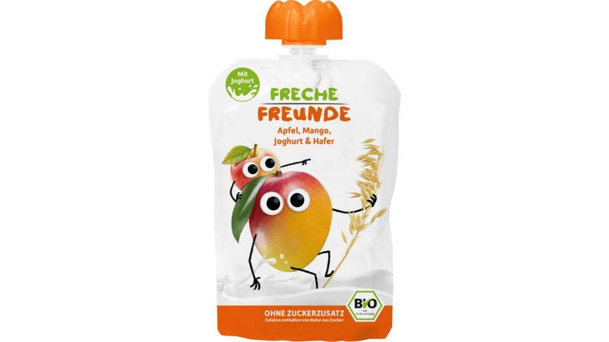 Freche Freunde Bio Quetschie Mango Joghurt Hafer