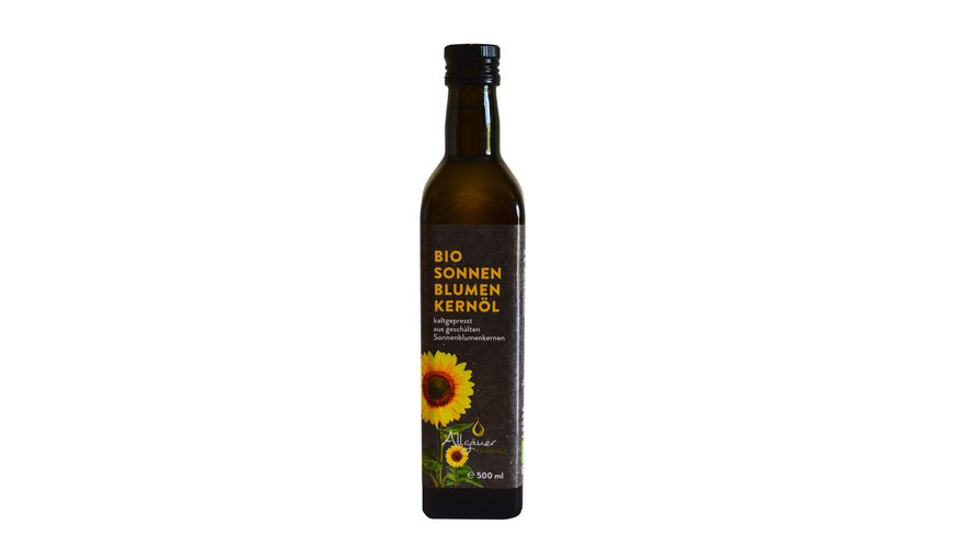 Allgaeuer Oelmuehle Bio Sonnenblumenkernoel