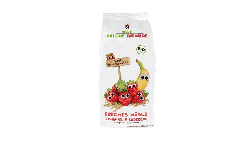 Freche Freunde Bio Freches Muesli Banane Erdbeere