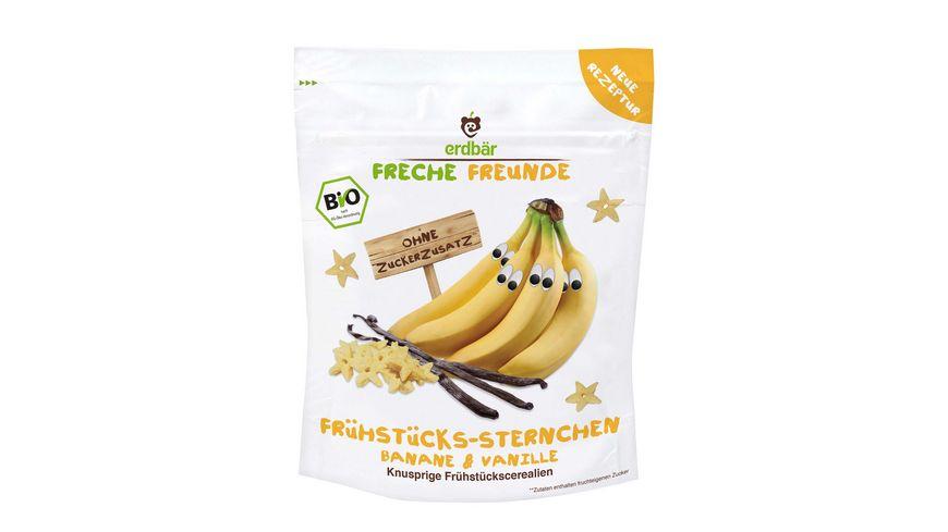 Freche Freunde Bio Fruehstuecks Sternchen Banane Vanille