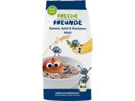 Freche Freunde Bio Freches Muesli Banane Apfel Blaubeere