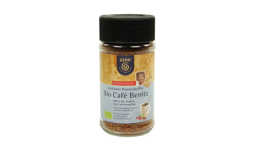 GEPA Cafe Benita Instant Entkoffeiniert