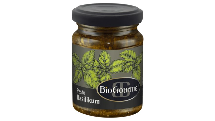 BioGourmet Basilikum Pesto