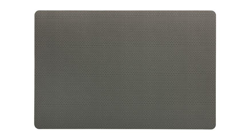 kela Tischset Calina 43 5x28 5 cm taupe