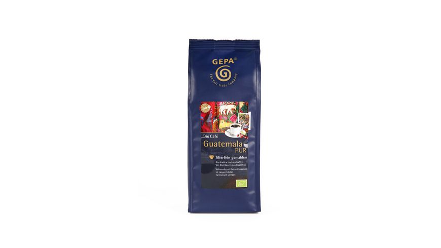 GEPA Bio Cafe Guatemala gemahlen