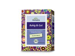 Herbaria Ruhig Gut Tee bio 15 FB