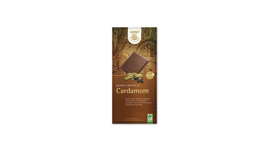 GEPA Cardamom Vollmilchschokolade