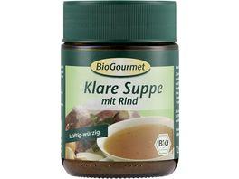 BioGourmet Klare Suppe mit Rind
