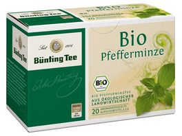 Buenting Tee Bio Pfefferminze