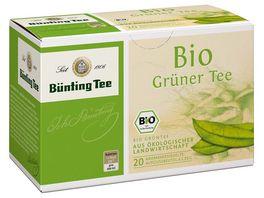 Buenting Tee Bio Gruener Tee