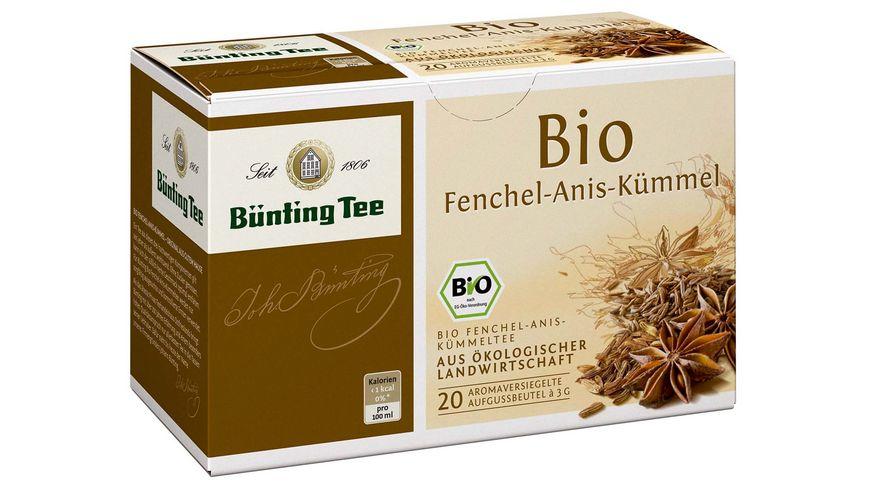 Bünting Tee Bio-Fenchel-Anis-Kümmel