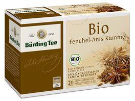 Buenting Tee Bio Fenchel Anis Kuemmel