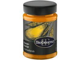 BioGourmet Fruchtaufstrich Mango Orange