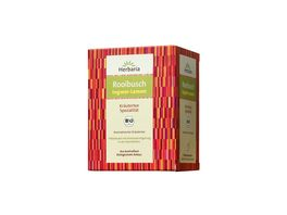 Herbaria Rooibusch Tee Ingwer Lemon bio 15 FB