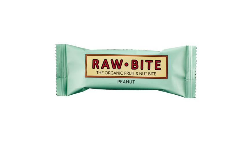 RAW BITE BIO Peanut Riegel