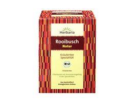 Herbaria Rooibusch Natur Tee bio 15 FB
