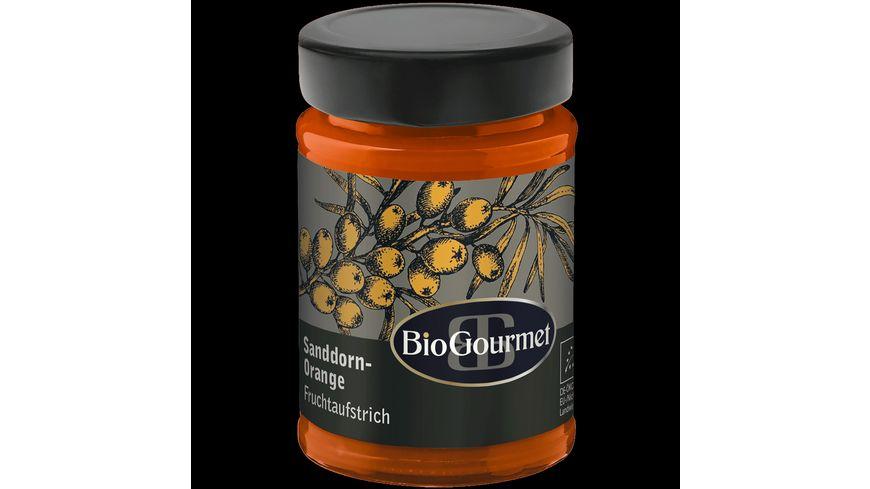 BioGourmet Fruchtaufstrich Sanddorn Orange