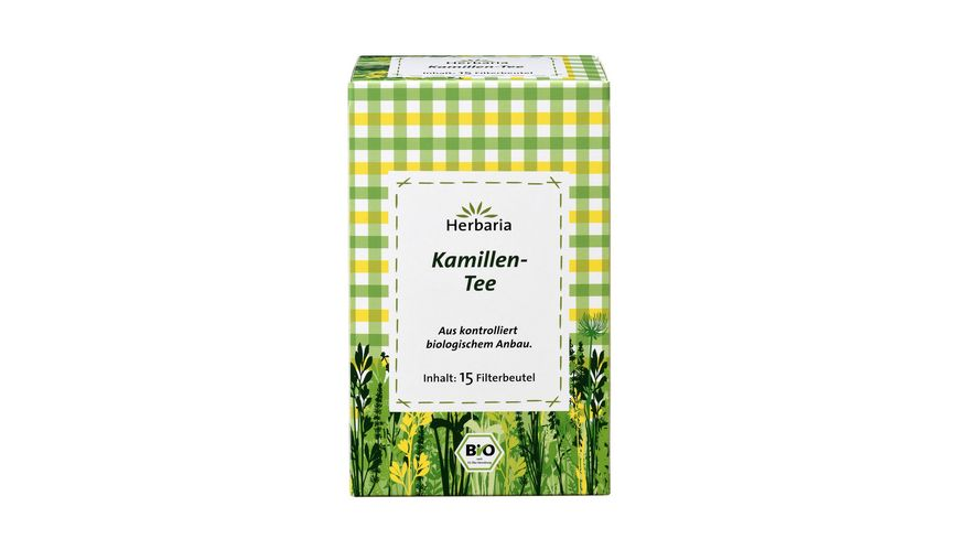 Herbaria Kamillen-Tee bio 15 FB