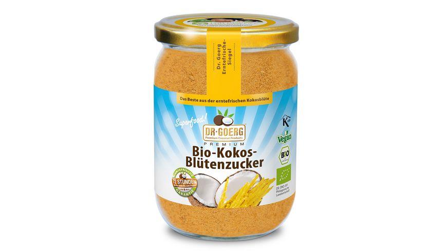 Dr Goerg Premium Bio Kokosbluetenzucker im Glas
