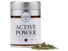 TEATOX Active Power Bio Gruentee mit Guarana Loser Tee