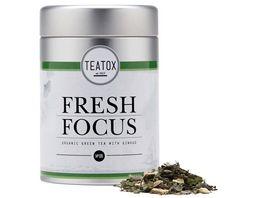 TEATOX Fresh Focus Bio Gruentee mit Ginkgo Loser Tee